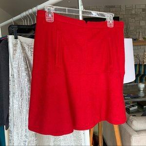 Cute Red Short Skirt!